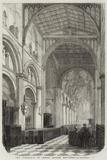 The Cathedral of Christ Church, Restored--Giclee Print