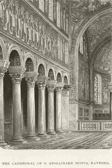 The Cathedral of S Apollinare Nuova, Ravenna--Giclee Print