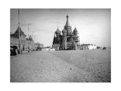 The Cathedral of Saint Basil the Blessed, Red Square, Moscow, Russia, 1900s--Giclee Print