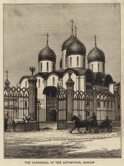 The Cathedral of the Assumption, Moscow--Giclee Print