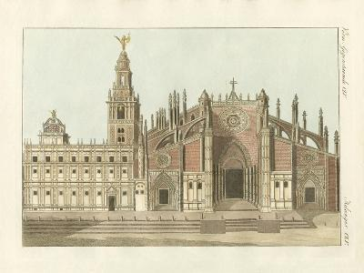 The Cathedral or Metropolitan Church of Seville--Giclee Print