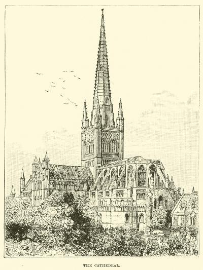 The Cathedral--Giclee Print