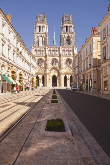 The Cathedrale Sainte Croix D'Orleans (Cathedral of Orleans), Orleans, Loiret, France, Europe-Julian Elliott-Photographic Print