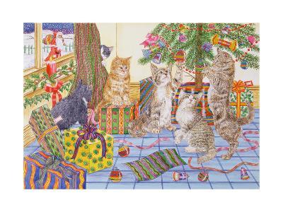 The Cats' Christmas-Catherine Bradbury-Giclee Print