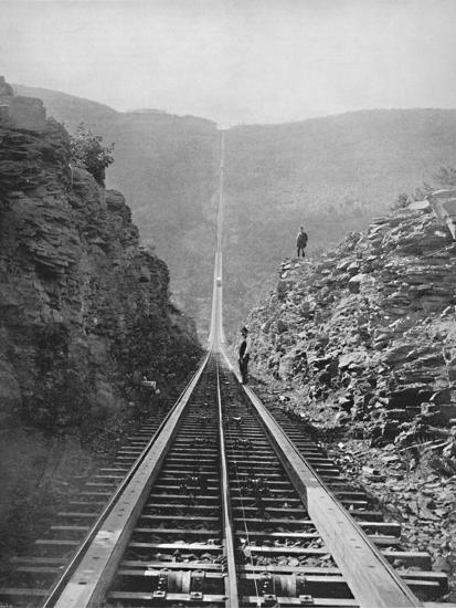 'The Catskill Railway', 19th century-Unknown-Photographic Print