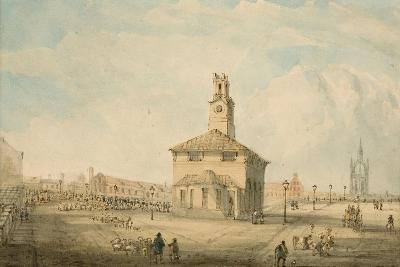 The Cattle Market, Newcastle Upon Tyne--Giclee Print