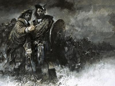 The Cause of Bonnie Prince Charlie and His Courageous Highlanders Was Doomed from the Start-Neville Dear-Giclee Print