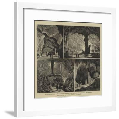 The Cave of Adelsberg, Austria-Joseph Nash-Framed Giclee Print