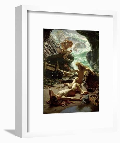 The Cave of the Storm Nymphs, 1903-Edward John Poynter-Framed Premium Giclee Print