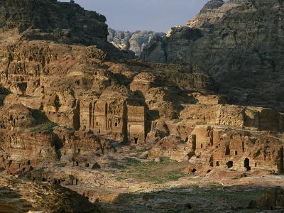 The Caves and Tombs of Petra were Carved by the Nabateans over 2000 Years Ago-Annie Griffiths-Photographic Print
