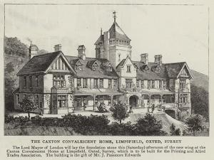 The Caxton Convalescent Home, Limpsfield, Oxted, Surrey
