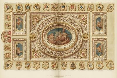The Ceiling of the Aldermen's Court Room, Guildhall, City of London, 18th Century-James Thornhill-Giclee Print