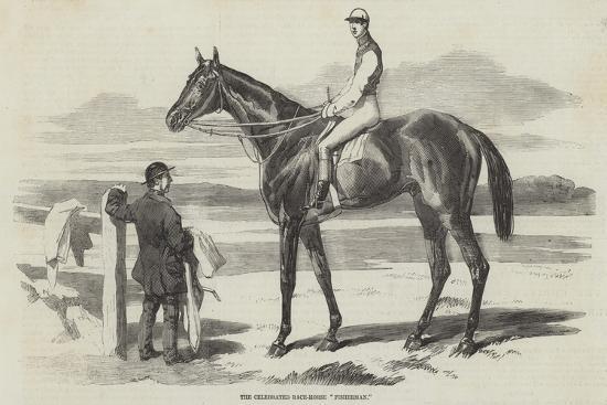 The Celebrated Race-Horse Fisherman--Giclee Print
