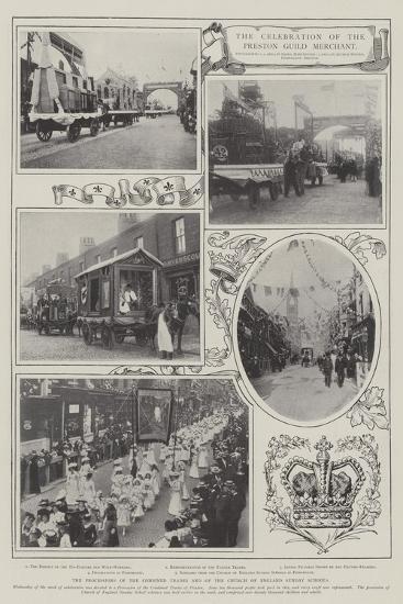 The Celebration of the Preston Guild Merchant--Giclee Print