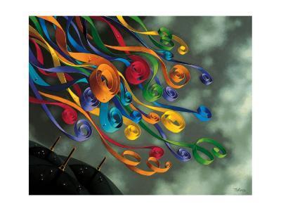 The Celebration-Claude Theberge-Art Print