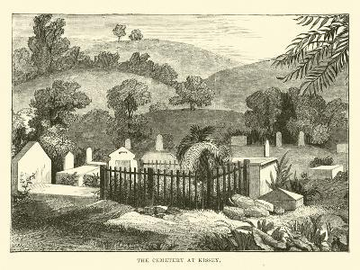 The Cemetery at Kissey--Giclee Print