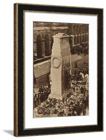 """The Cenotaph, Whitehall, London""--Framed Photographic Print"
