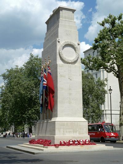 The Cenotaph, Whitehall, London-Peter Thompson-Photographic Print