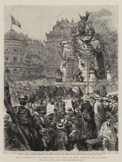 The Centenary Celebrations in Paris of the French Revolution--Giclee Print