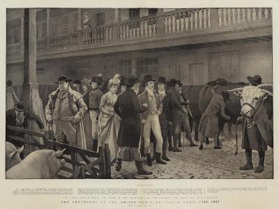 The Centenary of the Smithfield Club Cattle Show, 1798-1897-Charles Green-Giclee Print