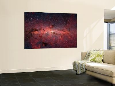 The Center of the Milky Way Galaxy--Wall Mural