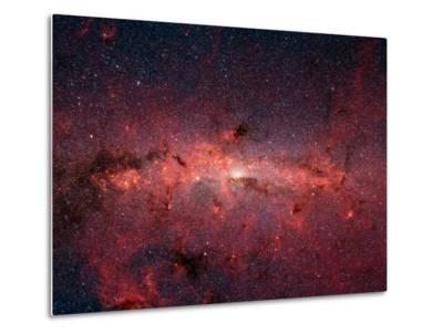The Center of the Milky Way Galaxy-Stocktrek Images-Metal Print