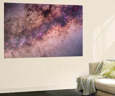 The Center of the Milky Way in Sagittarius and Scorpius-Stocktrek Images-Wall Mural