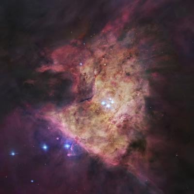 The Center of the Orion Nebula, known as the Trapezium Cluster-Stocktrek Images-Photographic Print