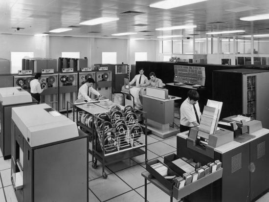 The Central Computer at Harwell--Photographic Print