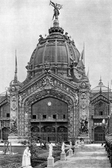 The Central Dome, Universal Exposition, Paris, 1889--Giclee Print
