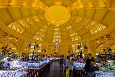 The Central Market, Built in 1937 in Art-Deco Style by the French Architect Jean Desbois-Nathalie Cuvelier-Photographic Print