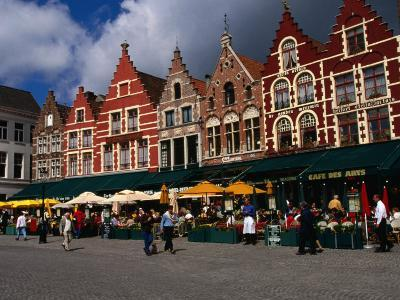 The Central Square in Brugges, Belgium-Doug McKinlay-Photographic Print