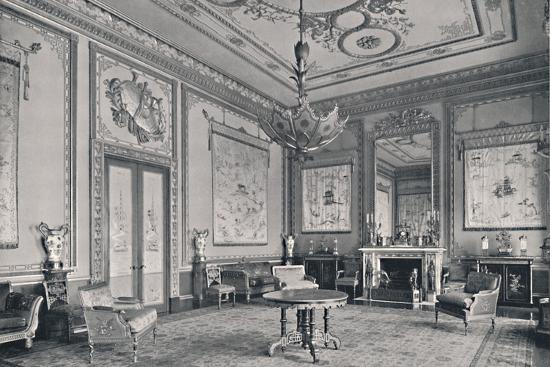'The Centre Room, Buckingham Palace, North-West Corner', 1939-Unknown-Photographic Print