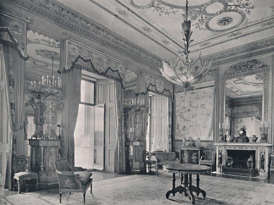 'The Centre Room, Buckingham Palace, South-East Corner', 1939-Unknown-Photographic Print