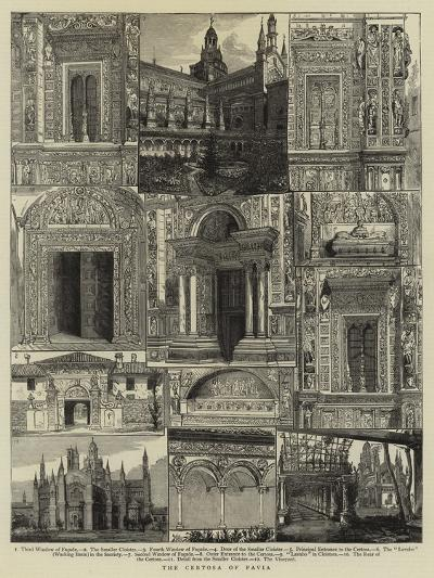 The Certosa of Pavia--Giclee Print
