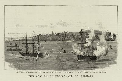 The Cession of Heligoland to Germany--Giclee Print