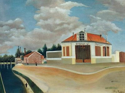 The Chair Factory at Alfortville, C.1897-Henri Rousseau-Giclee Print