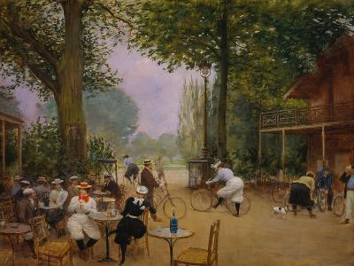 The Chalet of the Bicycle at Bois De Boulogne-Jean B?raud-Giclee Print