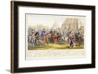 The Challenge, 1843-James Henry Nixon-Framed Giclee Print