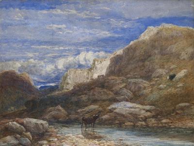 The Challenge, 1853-David Cox-Giclee Print