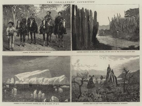The Challenger Expedition--Giclee Print