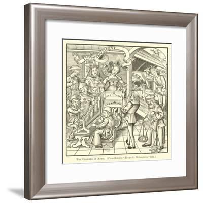 The Chamber of Music--Framed Giclee Print