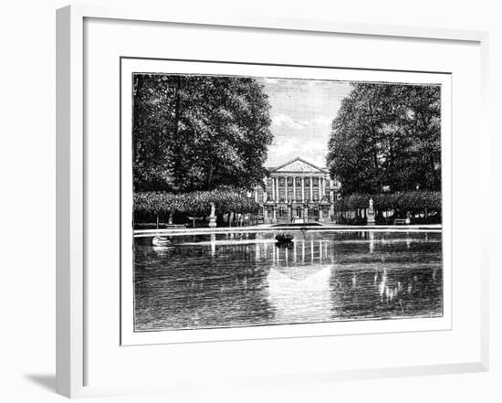 The Chamber of Representatives, Brussels, C1888--Framed Giclee Print