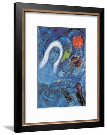 The Champ de Mars-Marc Chagall-Framed Art Print