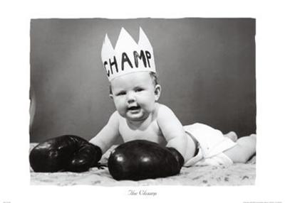 The Champ--Art Print