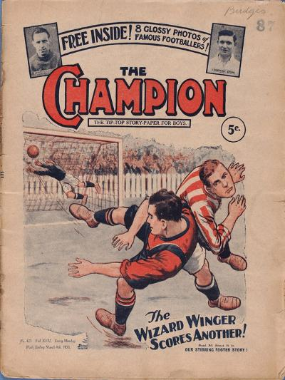 The Champion', No.423, 8th March 1930--Giclee Print