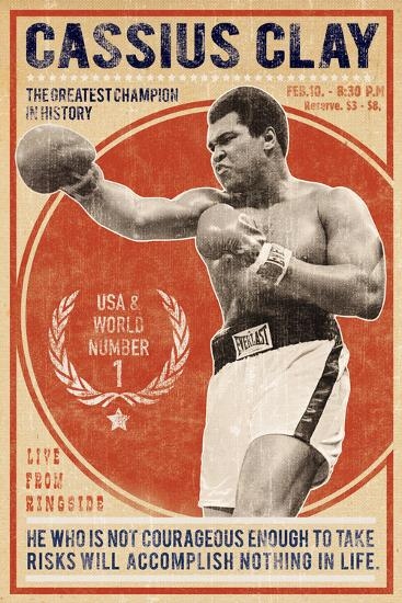 The Champion-The Vintage Collection-Giclee Print