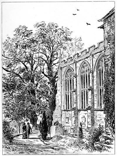 The Chancel of Stratford Church, Stratford-Upon-Avon, Warwickshire, 1885-Edward Hull-Giclee Print