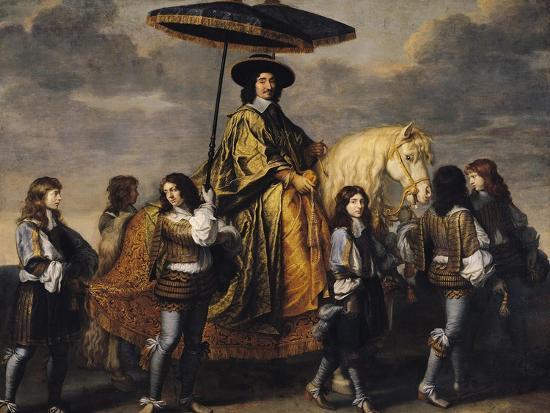 The Chancellor Seguier (1588-1672)-Charles Le Brun-Giclee Print