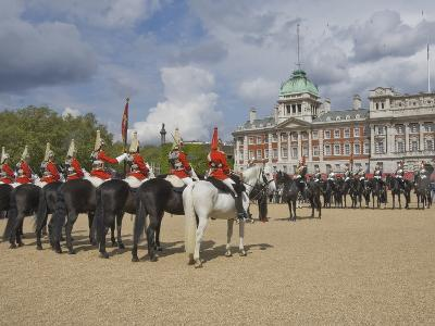 The Changing of the Guard, Horse Guards Parade, London, England, United Kingdom, Europe-James Emmerson-Photographic Print
